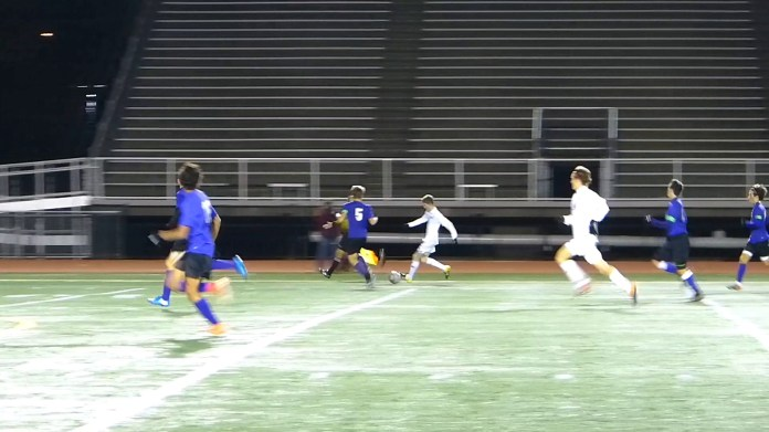 Late Gilbert goal moves Spartans into state final
