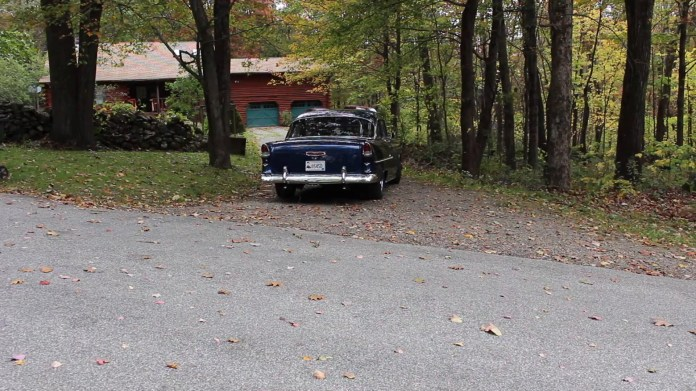 Mike Leroux of Warren, Conn. has owned his 1955 Chevrolet since 1989, although it did sit unused for a 14-year period. It's now running smoothly, though, even if he doesn't drive it that much.