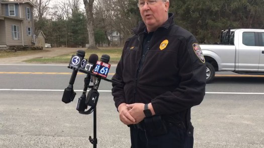 Lt. Larry Ash of the New Milford Police Department