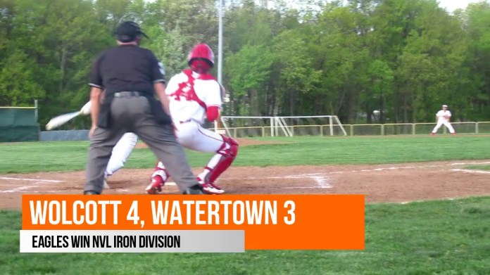 NVL baseball: Wolcott tops Watertown in Iron Division