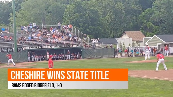 State baseball final: Cheshire edges Ridgefield to win title