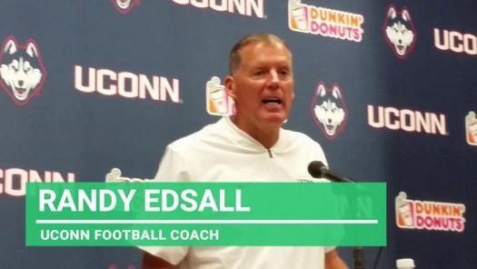 UConn football: Edsall after lopsided loss to Cincinnati