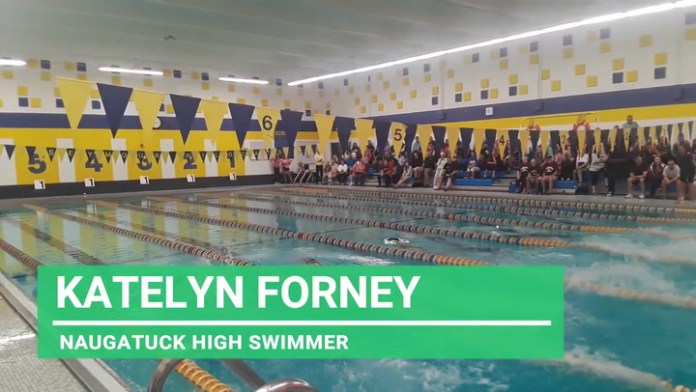 Naugatuck High swimmer Katelyn Forney