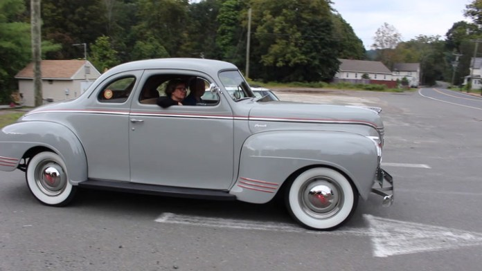 Just like his father once did, Mark Sievel of Newtown, Conn. owns a 1941 Plymouth. His is a Plymouth Deluxe business coupe that lacks a rear passenger seat and has a huge trunk instead. Sievel shares it in My Ride...