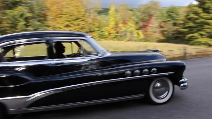 "Dan Garala of Torrington, Conn. owns a 1951 Buick Roadmaster, the brand's flagship model. It's loaded with chrome and has many period features, including a clever hood that opens from either side. Garala demonstrates in ""My Ride."""