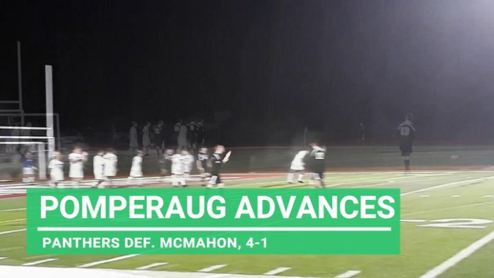 Pomperaug boys advance to soccer tourney second round