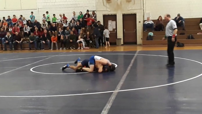 Nonnewaug defeats St. Paul in wrestling action