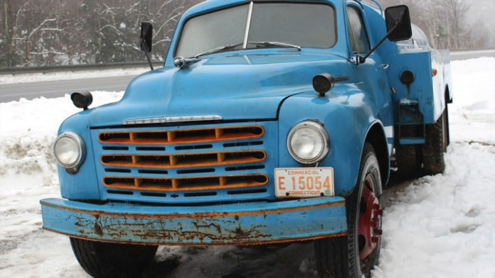 It once traveled the roadways of northwestern Connecticut for Lakeside Oil, Inc. in Torrington, but a 1949 Studebaker fuel truck has been parked in a shed in Vermont for more than 30 years. Frank Sprague of Wilmington, Vt. recently purchased it. While it may not be running, it has been getting a lot of attention.