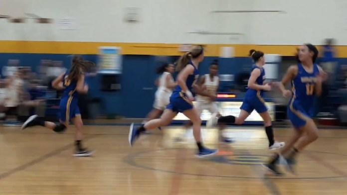 Housatonic girls basketball highlights