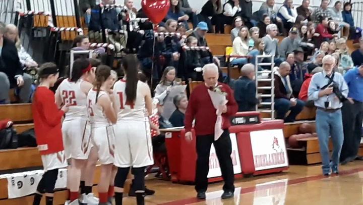 Northwestern's Emma Propfe Senior Night
