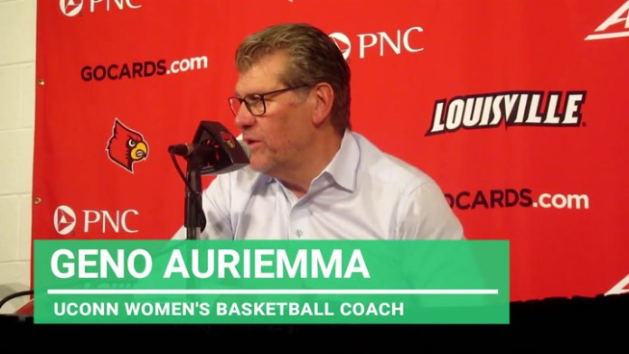 UConn coach Auriemma: On state of team after loss at Louisville