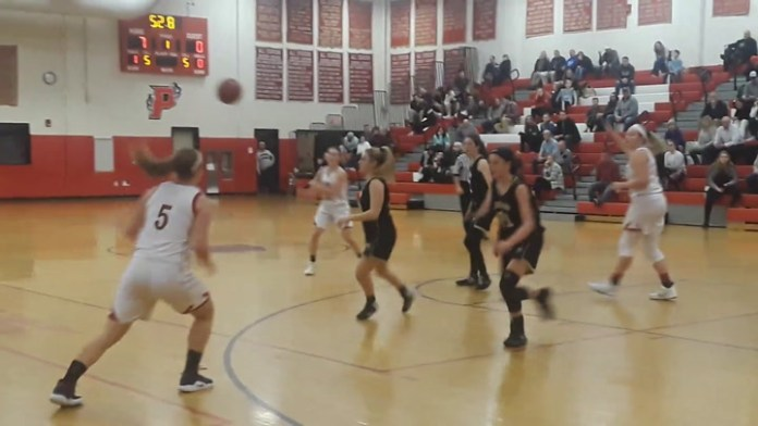 Pomperaug girls basketball highlights
