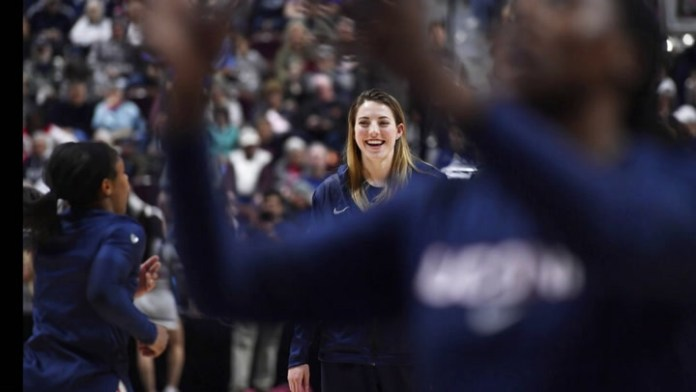 UConn's Katie Lou Samuelson on her back injury