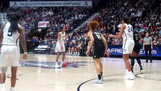 UConn in Sweet 16: Napheesa Collier