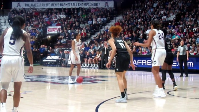 UConn in Sweet 16: Napheesa Collier