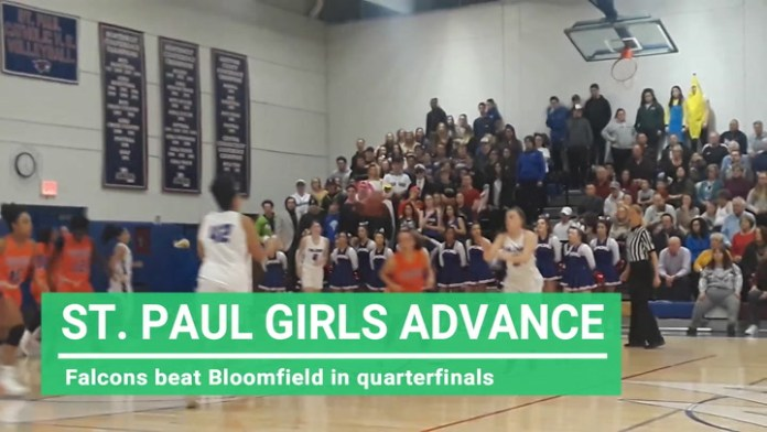 St. Paul girls advance to state semifinals
