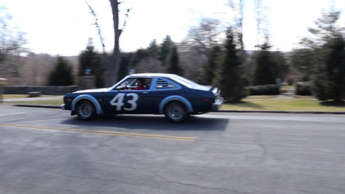 Steven Grening of Torrington, Conn. owns a rare race-replica 1978 Plymouth Volaré Street Kit Car that has been autographed four times by NASCAR legend Richard Petty. Only 247 were built and Grening has owned his for nearly five years.