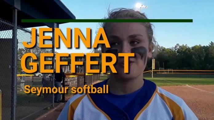 Seymour's Jenna Geffert