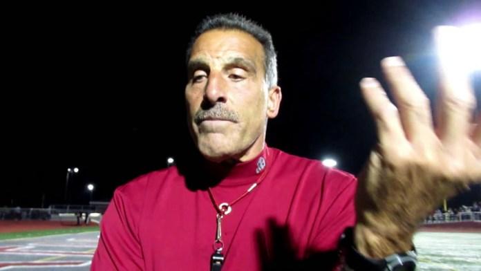 Naugatuck football coach Dave Sollazzo on shutout vs. Wolcott