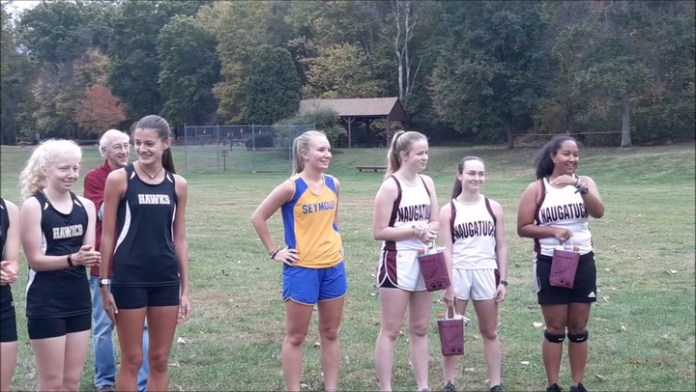 Cross country meet at Hop Brook Park