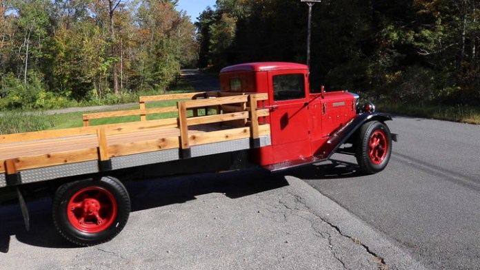 Larry Leifert of Norfolk, Conn. is reliving his youth with a 1933 Diamond T truck that he acquired last year. It's just like the one he bought when he was 12 or 13 years old. His has noted the passage of time, though, as he explains in My Ride.