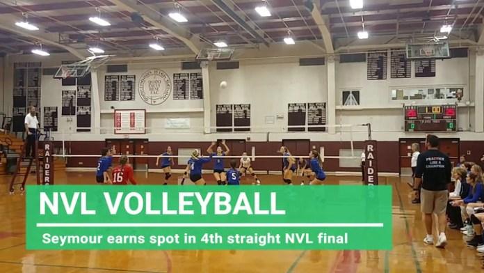 NVL volleyball: Seymour returns to tourney final