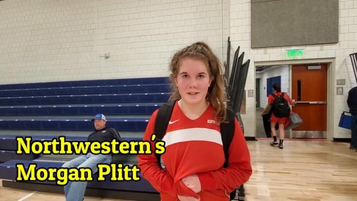 Northwestern's Morgan Plitt