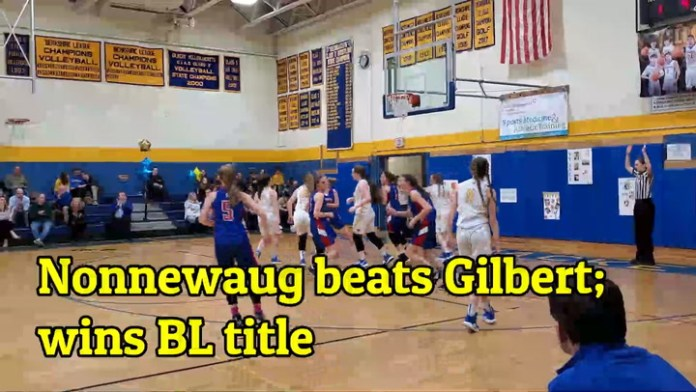 Nonnewaug girls win BL basketball title