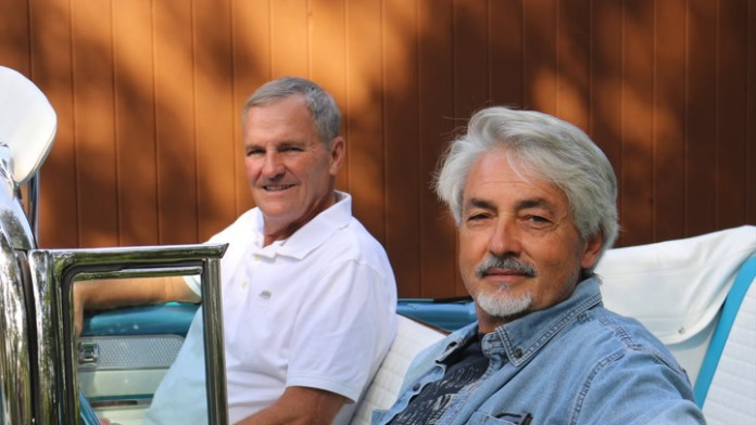 Jim Schoepfer of Cheshire and Bob Skrip of Prospect have just finished restoring a rare 1955 Buick Roadmaster convertible. Fewer than 5,000 were built and they've revived a shed find into a concours-quality beauty, which they share with My Ride.