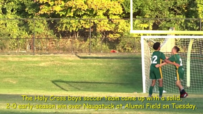 Crusaders top Greyhounds in boys soccer.