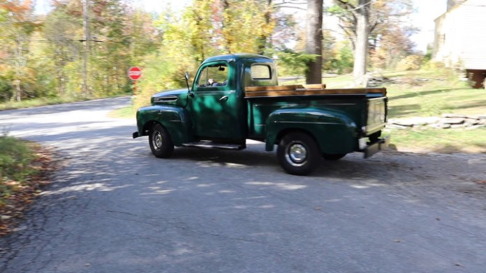 Jeff Crampton of Litchfield, Conn. acquired his 1949 Ford F-1 pickup about four years ago and spent upwards of two years restoring it. It had owned one when he was in his 20s and always wanted another one.