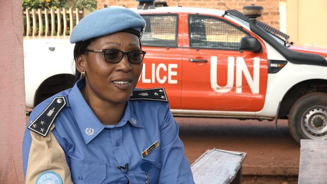 Service and Sacrifice: Cameroonian peacekeeper empowering women and girls