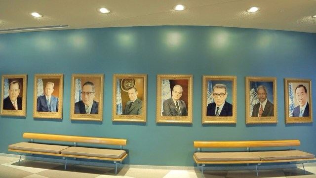 The UN Secretaries-General: Through the lens of two photographers