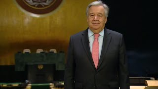 2020 United Nations New Year Message