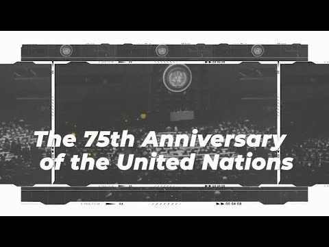 The 75th UN General Assembly
