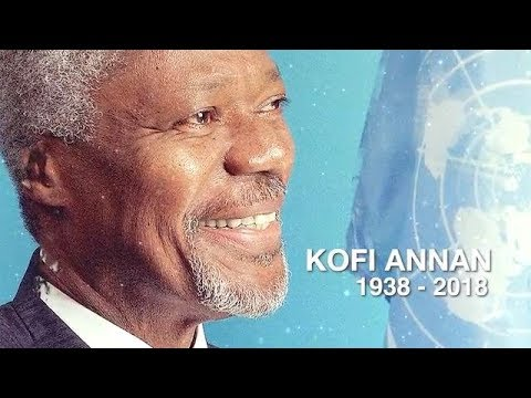 Video homenaje a Kofi Annan
