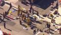 San Bernardino Police search for suspect after mass shooting