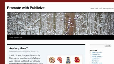 Publicize Your WordPress.com Blog