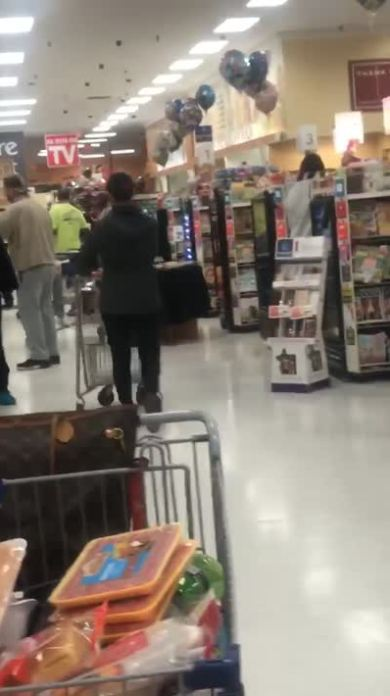 White Woman Screams N-Word at Black People and Spits at Them in ShopRite