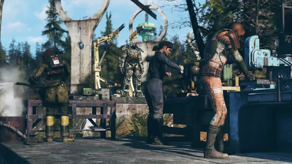 Fallout 76 Bethesda Zeigt Trailer Mit Neuem Multiplayer