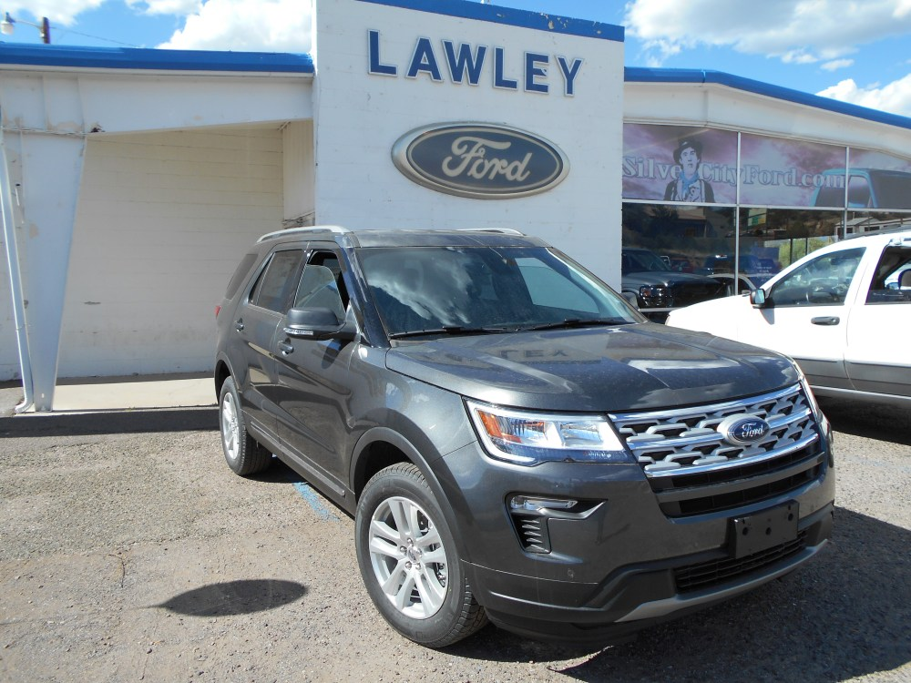 medium resolution of new 2019 ford explorer xlt suv i 4 ecoboost engine in silver city nm