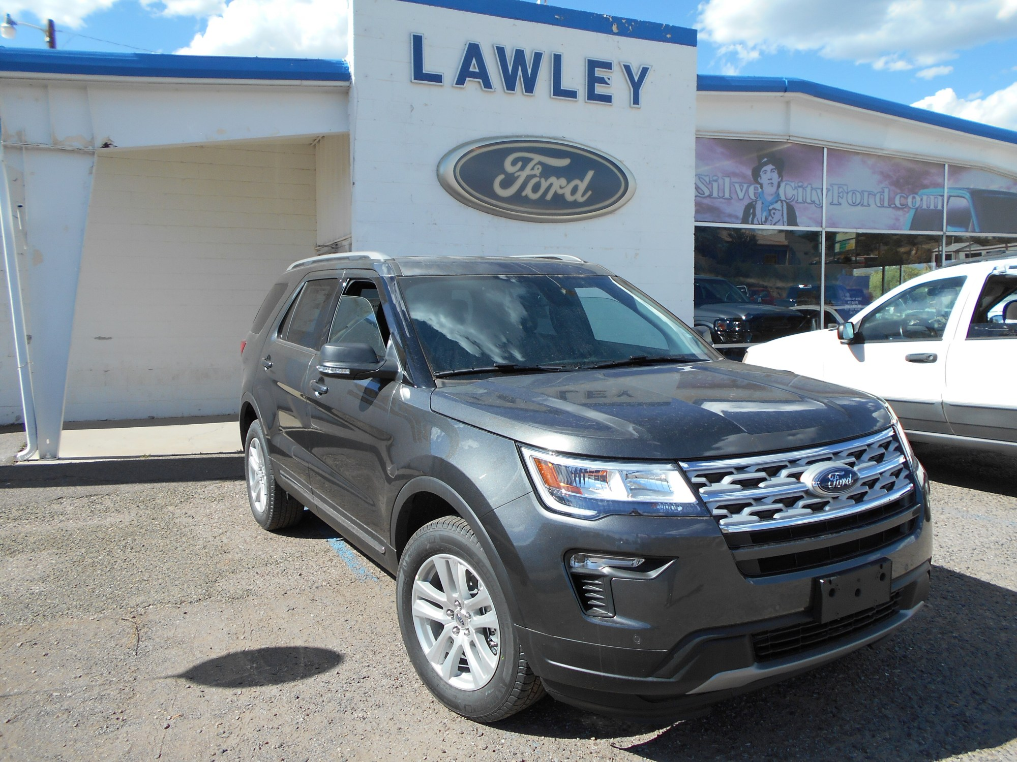 hight resolution of new 2019 ford explorer xlt suv i 4 ecoboost engine in silver city nm