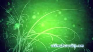 Green Flourish Animated Backdrop