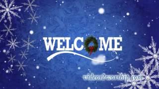 Christmas And Holidays Welcome