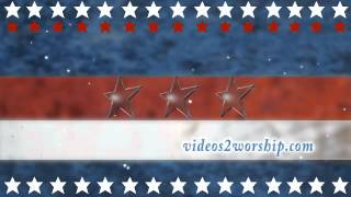 Animated Stars Of American Flag