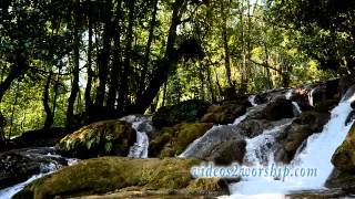 Waterfall: Nature Worship Background