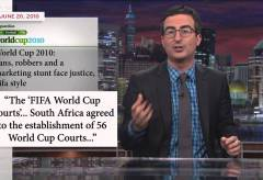 Featured Vid #99 – John Oliver on The FIFA World Cup