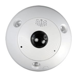 "Camera IP Safire 12 Megapixel - 1/1.7"" Progressive CMOS - Compressione H.264 / MJPEG - Lente 1.98 mm Fisheye - IR LEDs portata 15 m - Rettifica ePTZ integrata"