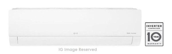 LG 1.5 Ton 5 Star Inverter Split AC (Copper, KS-Q18YNZA, White)