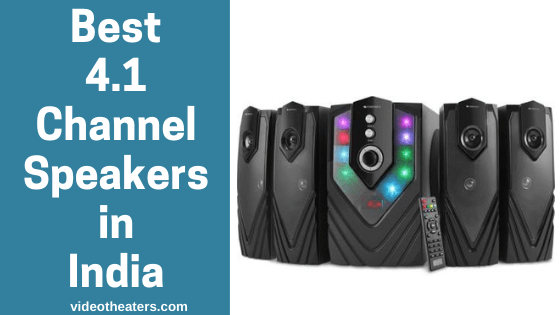 Best 4.1 Channel Speakers in India